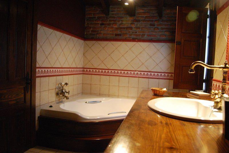 detalle del baño habitación de matrimonio - casaruralenasturias.net