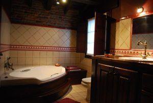 baño de la habitación de matrimonio - casaruralenasturias.net