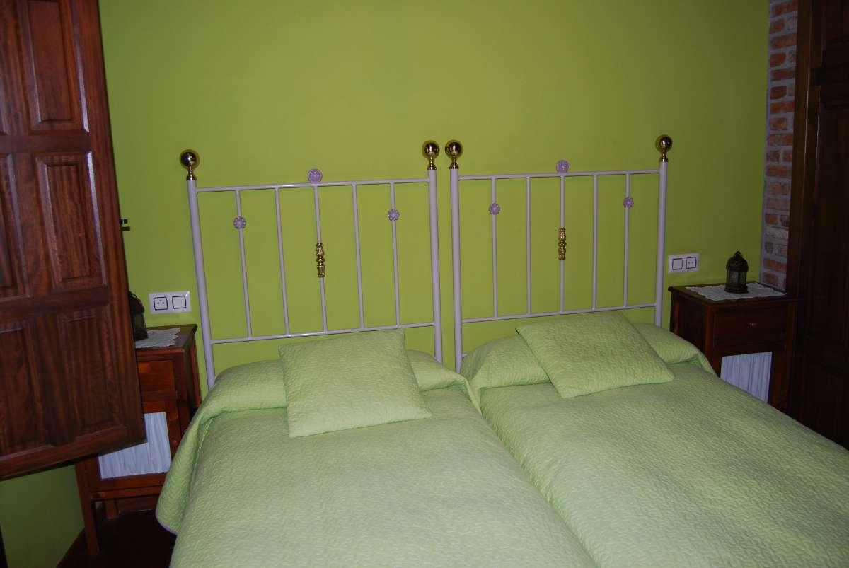 habitación doble - casa rural en asturias