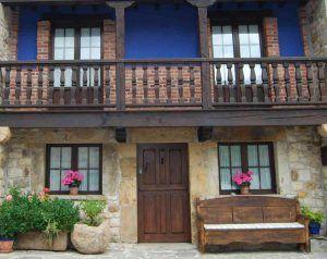 Casa Rural La Regenta, tu casa rural en Asturias. Vista de la fachada